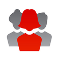 team leader 3 vector image vector image