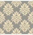 Vintage floral beige seamless pattern vector image vector image