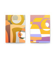 abstract backgrounds for cafe menu retro design vector image