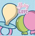 baby love cartoons vector image