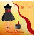 Birthday party invitation vector image vector image