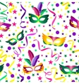 Carnival seamless background vector image