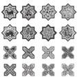 set of tiles for design vector image