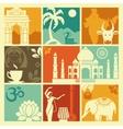 Symbols of India vector image vector image