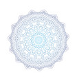 abstract design black white element round mandala vector image