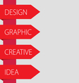design idea graphic vector image