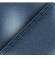 diagonal jeans design vector image vector image