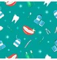 Healthy Teeth Dental Seamless Pattern vector image vector image