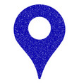 map marker icon grunge watermark vector image vector image