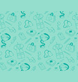 medicine icons pattern vector image vector image