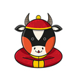 Ox Chinese vector image vector image