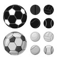 sport and ball logo set of vector image vector image