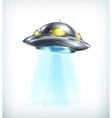 UFO icon vector image vector image