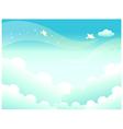 Sky Landscape Background vector image