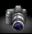 Icon for SLR camera vector image vector image