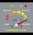 success performance vector image