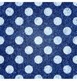 Jeans retro seamless polka-dot background
