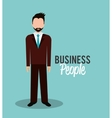 Business people or businessman vector image