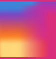 colorful modern instagram smooth gradient vector image