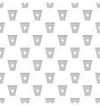 cup of coffee icon outline style vector image