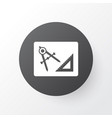 drawing with adaption icon symbol premium quality vector image