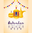 ramadan kareem celebration vector image
