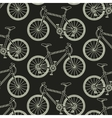 seamless pattern with racing bikes vector image vector image
