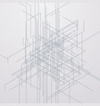 abstract linear background vector image
