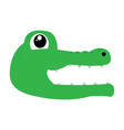 avatar of crocodile vector image