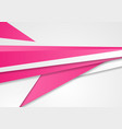 abstract pink and grey corporate background vector image vector image