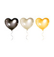 balloons collection isolated vector image vector image