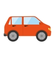 car auto front icon vector image vector image