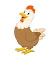 Cartoon Hen vector image