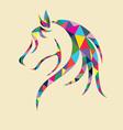 Head Horse vector image vector image