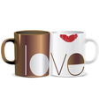 I love you mug vector image