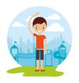 kid good habits vector image vector image