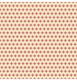 Nice seamless pattern tiling Sweet red and yellow vector image vector image