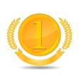 number one award vector image vector image
