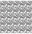 ornate decorative seamless pattern vector image vector image