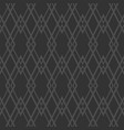 tile grey pattern or seamless background vector image vector image
