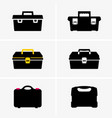 tool boxes vector image vector image