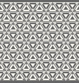 abstract geometric simple pattern of triangles vector image vector image