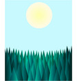 abstract polygonal forest background vector image vector image
