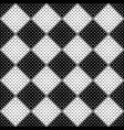 black and white abstract dot pattern background vector image vector image