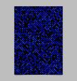 blue pentagram star shape pattern background vector image vector image