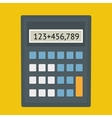 Calculator fla vector image