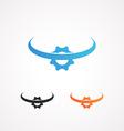Concept of Engeneering Logo vector image