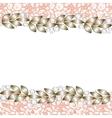 elegant jewelry border vector image vector image