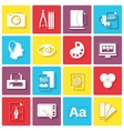 Graphic design icons vector image vector image