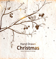 Hand Drawn Christmas Design vector image vector image